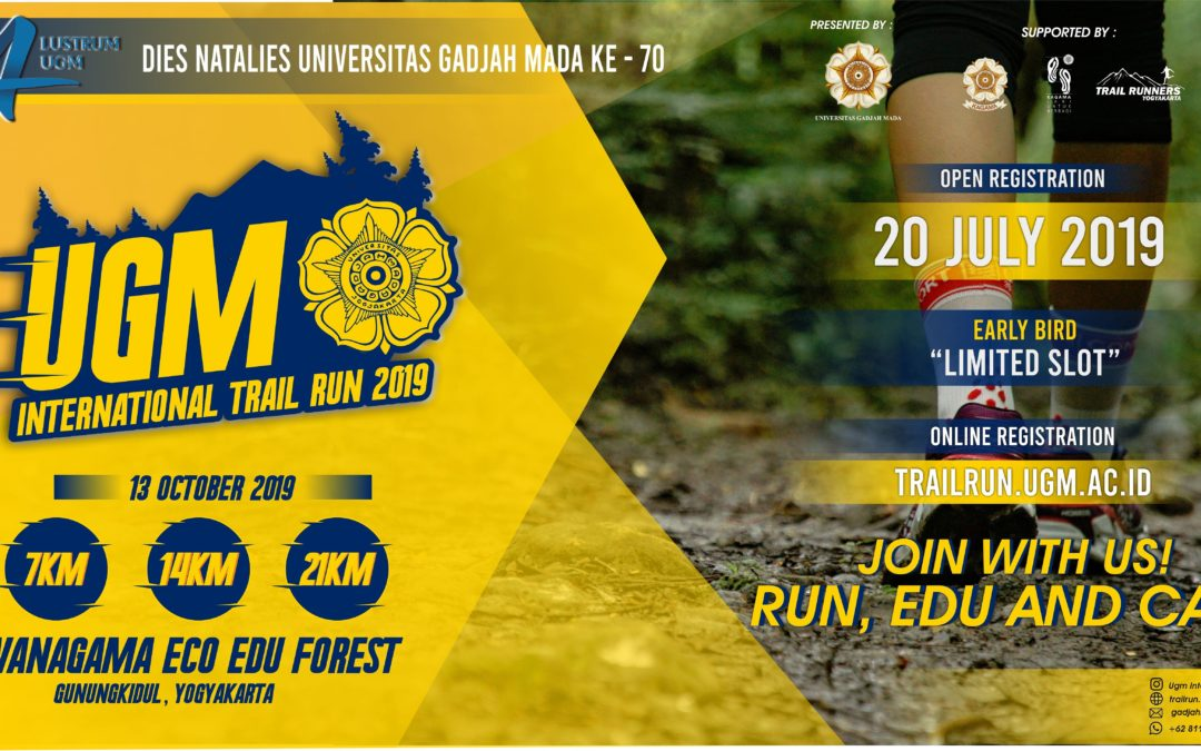 UGM INTERNATIONAL TRAIL RUN 2019
